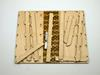 Pencil case self assembly kit, Book Style Case Laser Cut From Plywood